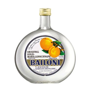 Original Gold-Marillenschnaps Bailoni