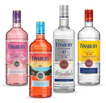 Finsbury Distilled London Dry Gin